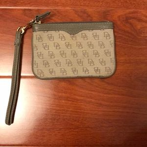 Like new Dooney and Bourke wristlet